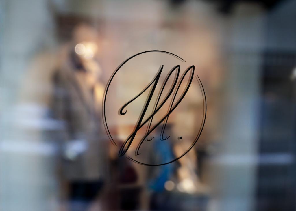 Logo validé - mockup vitrine
